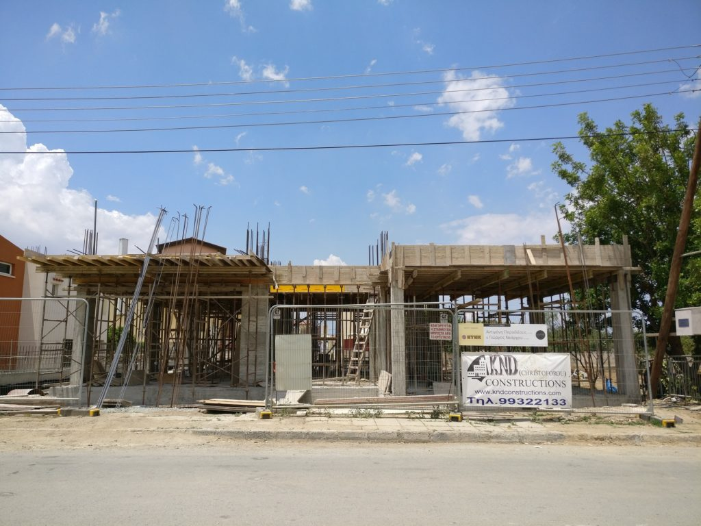 architecture lefkosia nicosia cyprus house residence under construction lakatamia contemporary modern