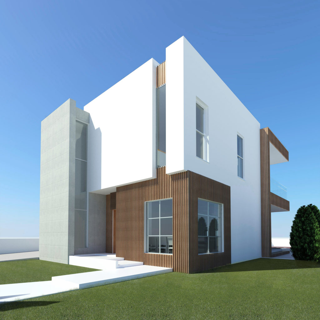 contemporary house residence architects cyprus nicosia