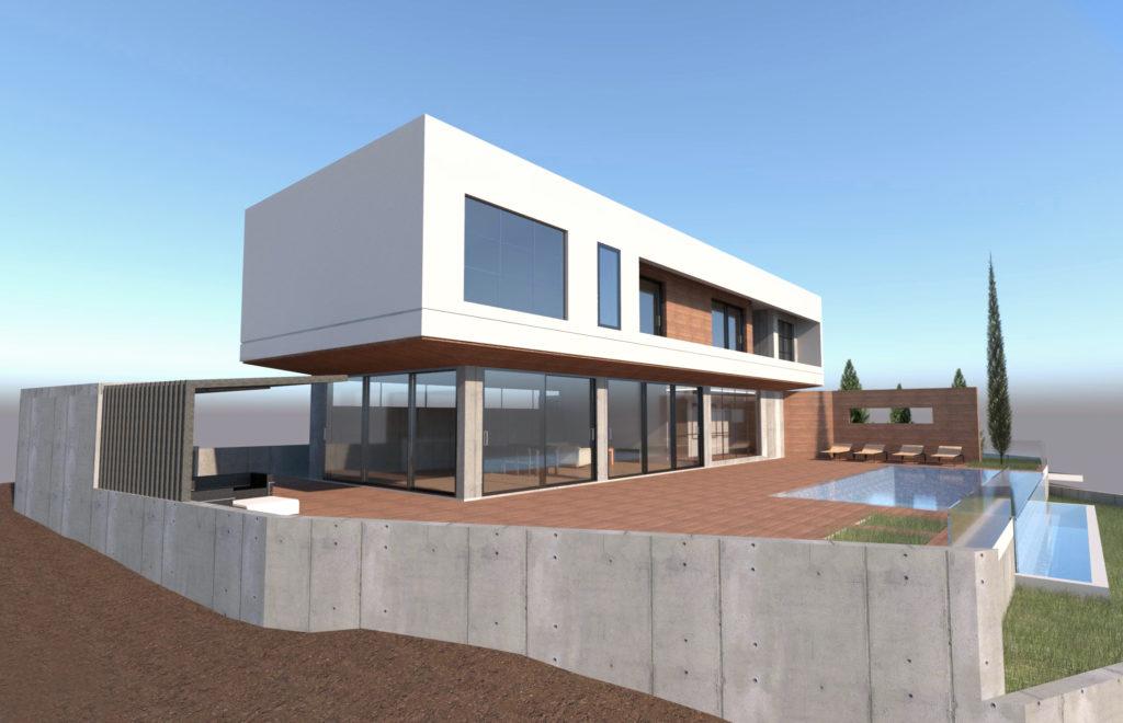 Cyprus glass house villa luxury paphos