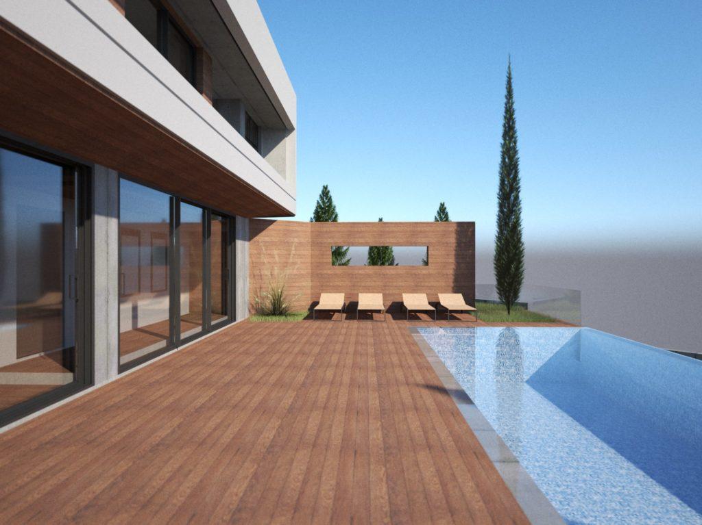 konia luxury house infinity pool